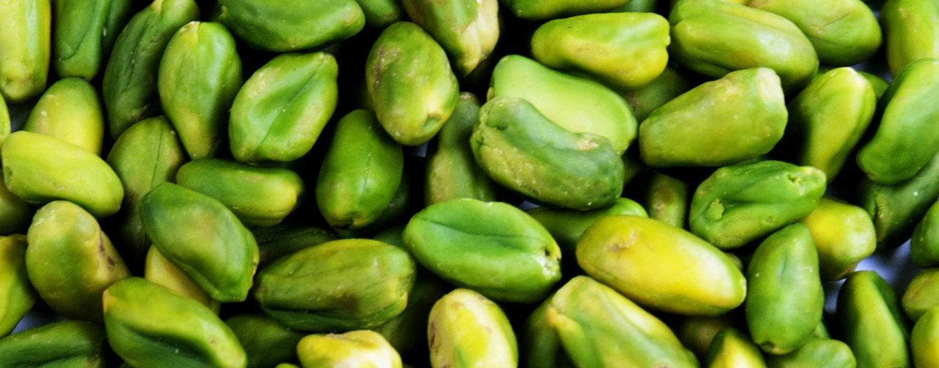 green pistachio